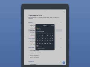 iPad - Termin Überlagerung