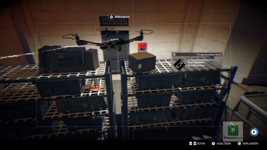 Mit der Drohne können auch Überwachungskameras angezapft werden