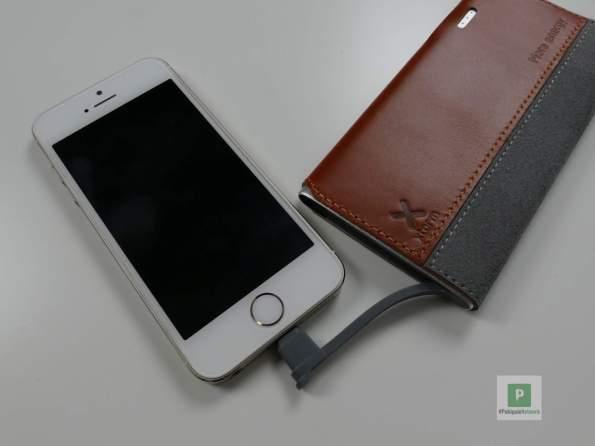 Aufladen vom iPhone