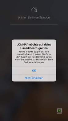 Die App für die omna