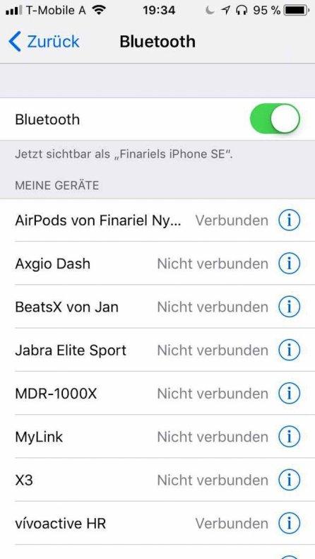 Bluetooth Übersicht