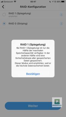 Die Wahl zwischen RAID 0 und 1