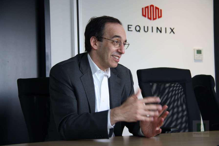 Interview mit Eric Schwartz von Equinix - Bidlquelle Roberto Cazzetta