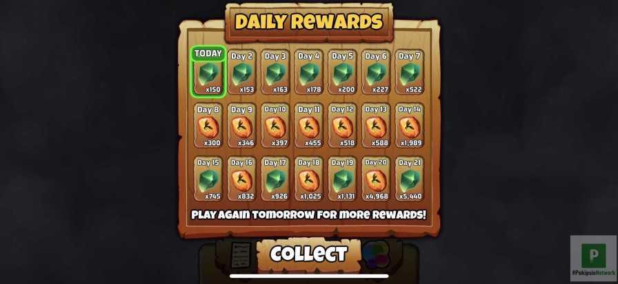 Tägliche Belohnungen