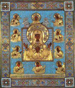 """Чудотворная икона """"Курская-Коренная"""" посещает нашу епархию"""