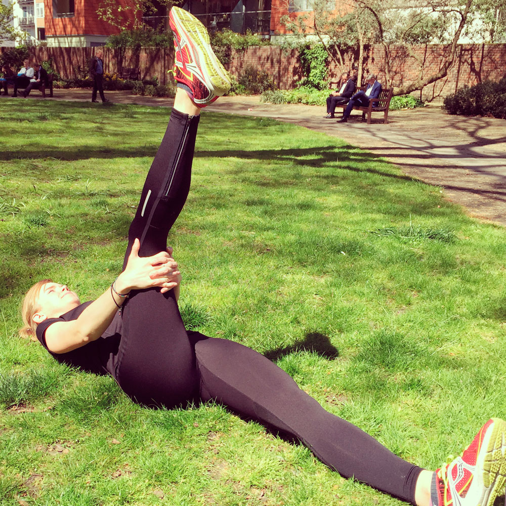 Improve flexibility in the hamstring group, recovery and injury prevention