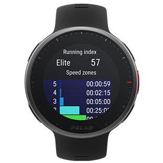 V2-feature_Running-Index Test de la montre connectée Polar Vantage V
