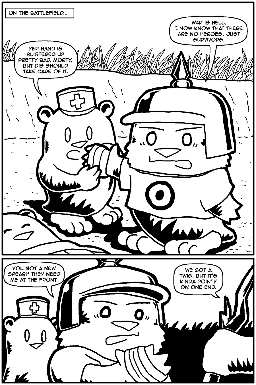 The Last Human Alive, Page 24