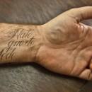 Nato in Questo Modo tattoo, Born this way
