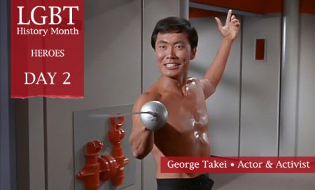 George Takei, LGBT History Month 2012