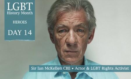 Sir Ian McKellen, LGBT History Month Heroes 2012, Polari Magazine