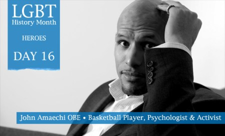 John Amaechi, LGBT History Month Heroes 2012, Polari Magazine