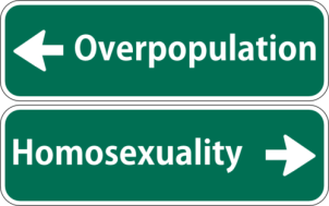 Homosexuality solves Overpopulation