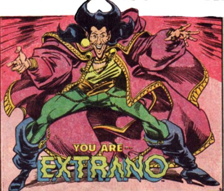 DC Superhero Extrano