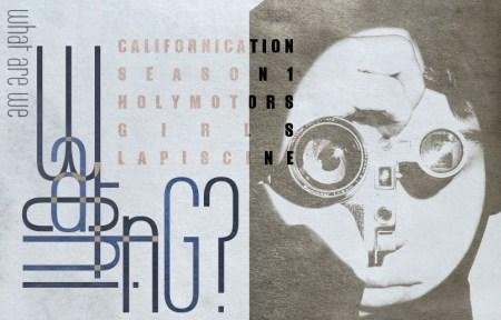 What Are We Watching, La Piscine, Holy Motors, Californication, Girls