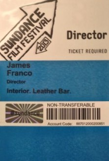 James Franco Sundance Pass
