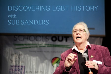 Sue Sanders, LGBT History Month