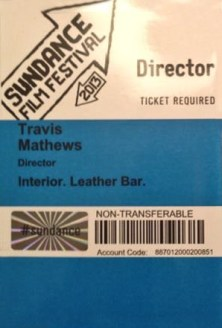 Travis Mathews Sundance Pass