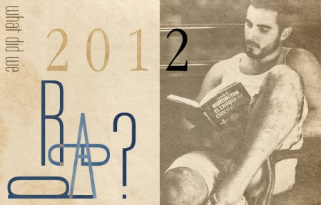 What Did We Read? Best books of 2012