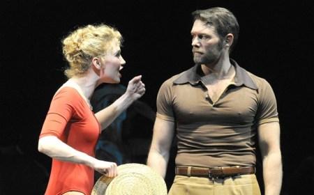A Chorus Line, Scarlett Strallen John Partridge, review