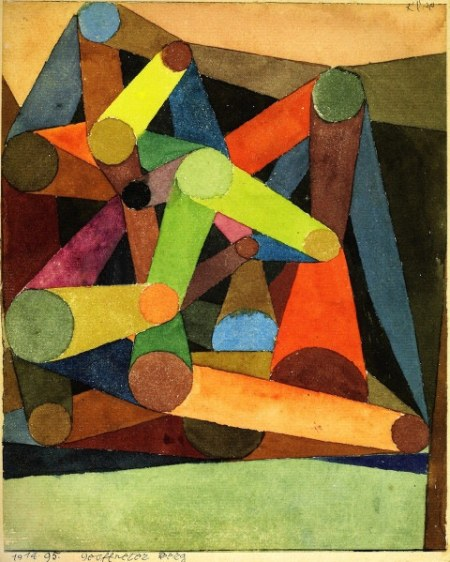 Opened Mountain, Paul Klee, Tate Modern