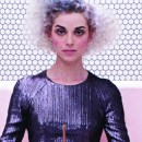 A detail of the cover art of St. Vincent
