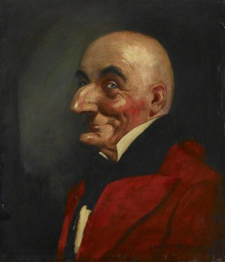 Mr-Punch-Raven-Hill-PAINTING