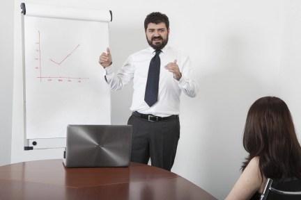 presentazione, meeting