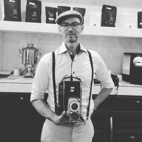Photographe Polaroid 110 vintage rétro