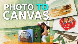 How to Put a Photo on Canvas