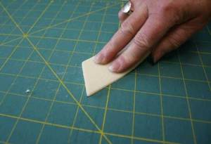 how to clean cutting mat