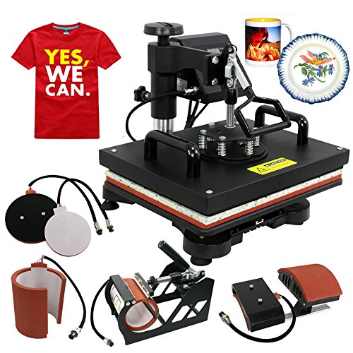 c7dd319f1 Here goes yet another 5-in-1 t shirt press machine with a superb design and  excellent features.