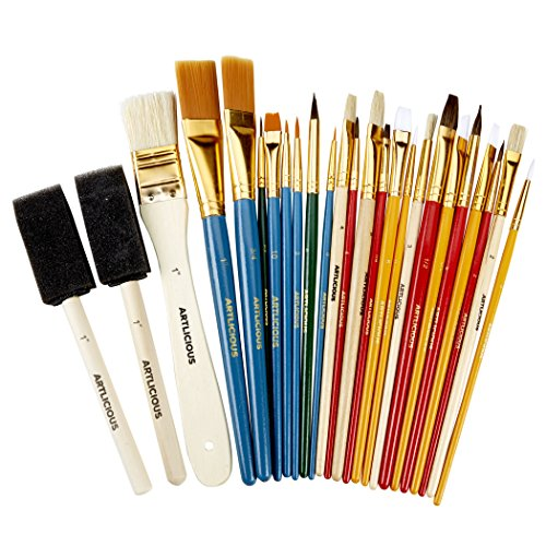 The 15 Best Acrylic Paint Brushes For 2019 Reviews By An