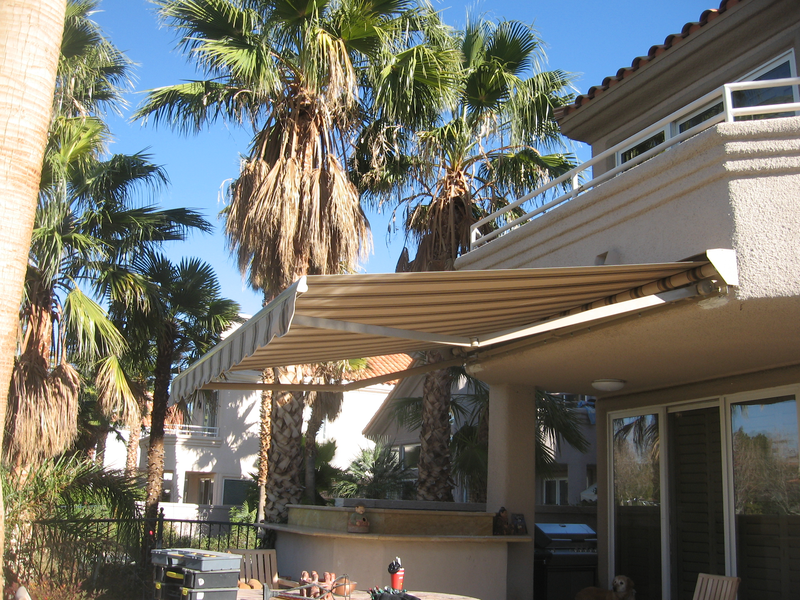 value to how home fabric add comfort awning your retractable awnings