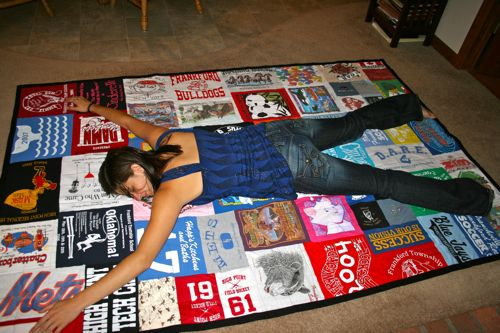 Image Result For How To Make A Quilt Out Of Old T Shirts