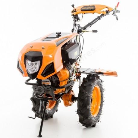 Motoculteur Diesel 10 Cv 8 Fraises Vitesses 2av 1ar Roues Agraires 400x8 Charrue Reversible Ruris 1001 Ksd Pole Accessoires Com