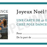 Pensez aux Cartes Cadeau Pole Dance and Co !