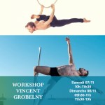 Workshop pole et cerceau Vincent Grobelny !