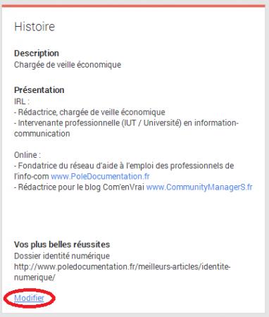 googleplus - histoire