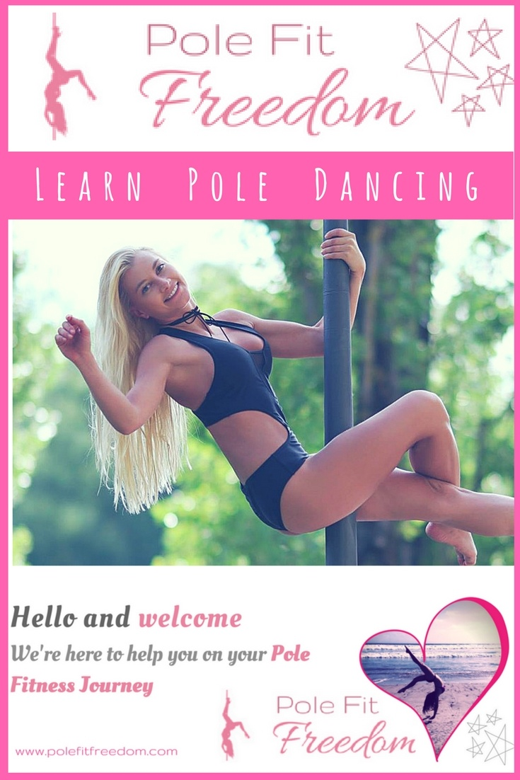 Learn how to pole dance