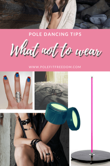 What not to wear when pole dancing. Pole dancing tips and inspiration for beginners