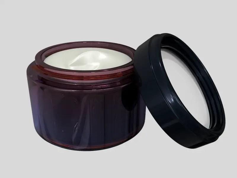 Tub of moisturizing lotion