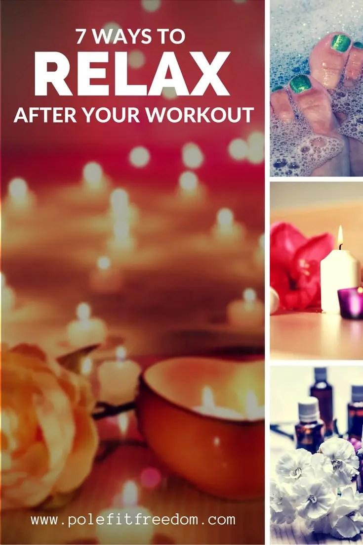 7 ways to relax after an intense workout