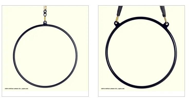 X Pole aerial hoops