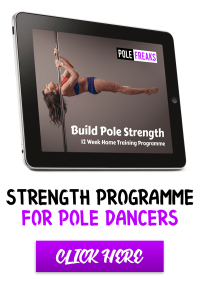 12 week pole dance strength programme