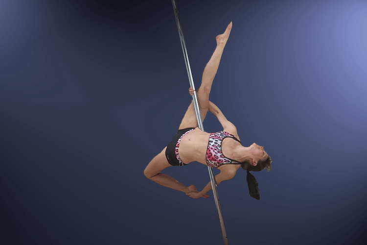 Pole Dance Moves from an Allegra