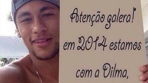 NEYMAR HOME 300x168 - Foto de Neymar em apoio a Dilma é falsa, diz empresa