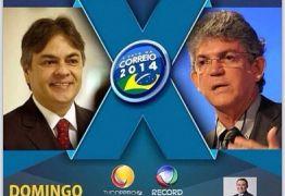 UM DOMINGO DE DEBATE ENTRE CÁSSIO E RICARDO NA TV CORREIO, 17 HS.