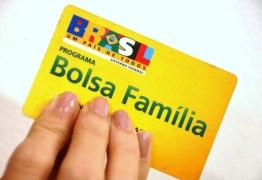 Reajuste do Bolsa Família é cancelado