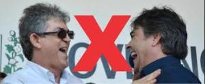 cássio x ricardo 300x123 - Os dois contendores devem seguir em situação de 'empate técnico' até a hora do reencontro com as urnas - por Rubens Nóbrega